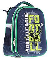 Ранец CLASS Football 39 х 28 х 21 см 19 л для мальчиков Синий (9910/8591662991000)