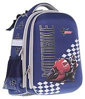 Ранец CLASS Motobike 39 х 28 х 21 см 19 л для мальчиков Синий (9909/8591662990904), фото 1
