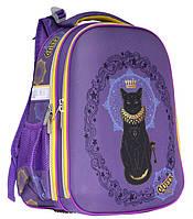 Ранец CLASS Cat 39 х 28 х 21 см 19 л для девочек Фиолетовый (9907/8591662990706), фото 1