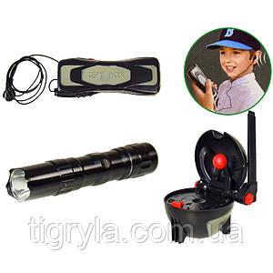 Набор шпиона - подслушивающее устройство, фонарик, шпионский шар