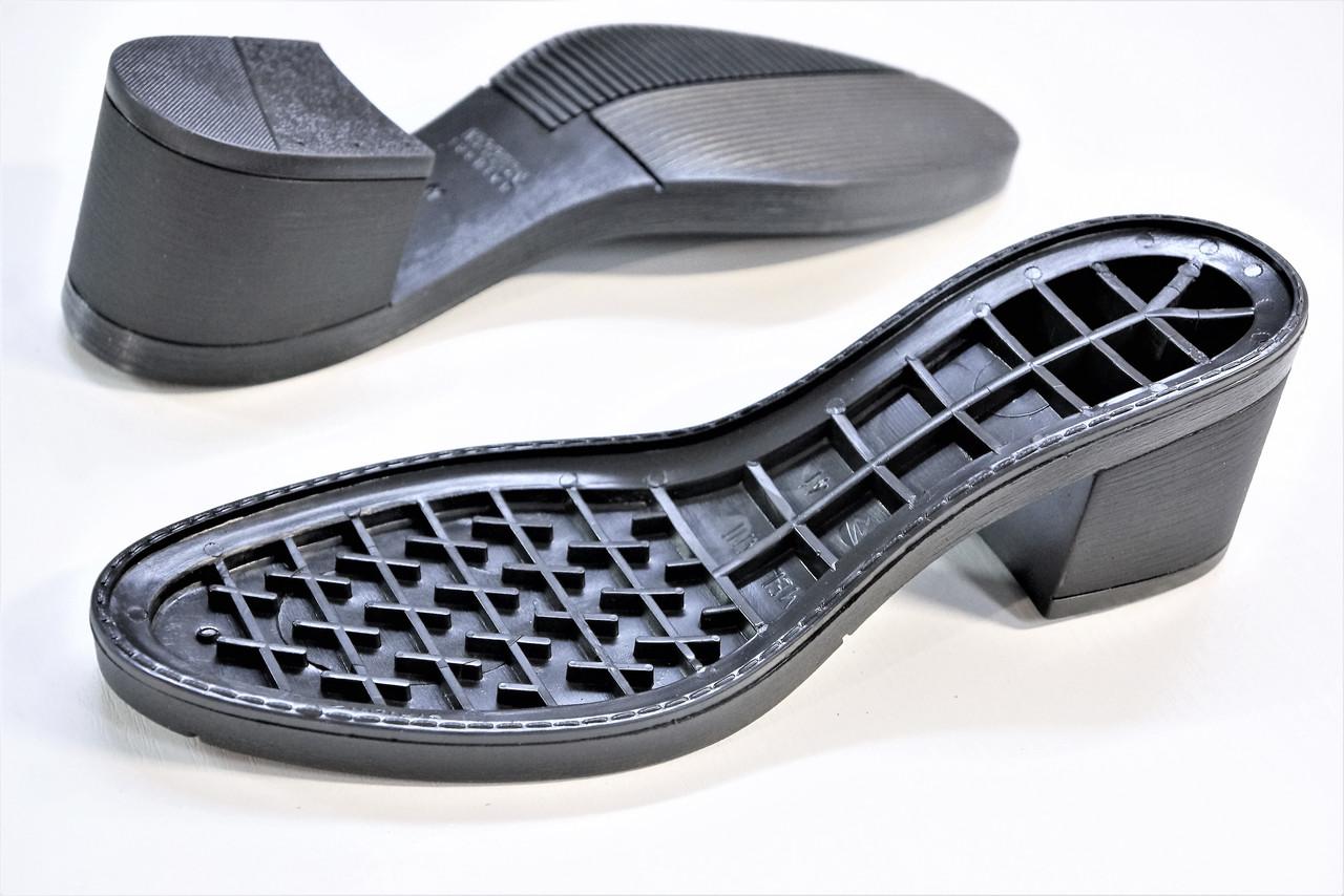 Подошва для обуви женская Мелани чорна р.36-38,40-41