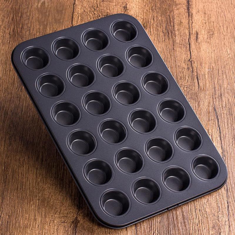Форма для выпечки мини кексов 24 шт. тефлон