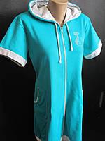 Женские халаты из турецкой хлопковой ткани., фото 1