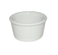 Набор керамических соусников белых 100 мл (6 шт.)