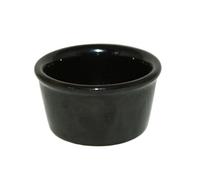 Набор керамических соусников черных 100 мл (6 шт.)