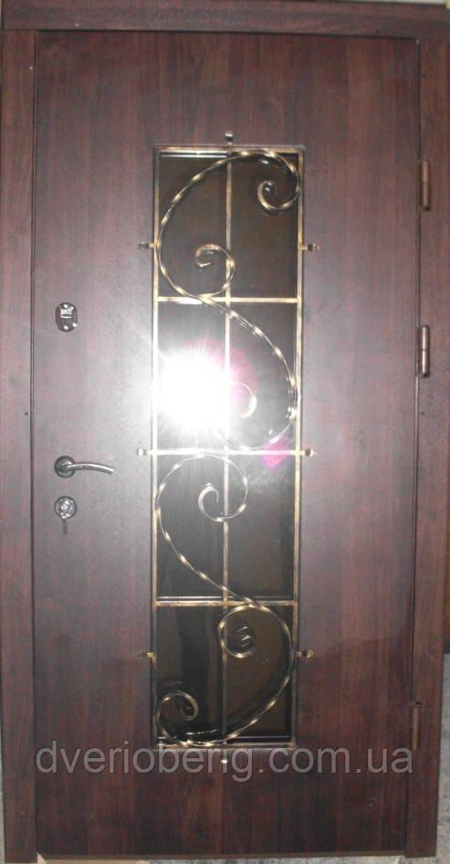 Вхідні двері модель П5 0 vinorit-80 КОВКА