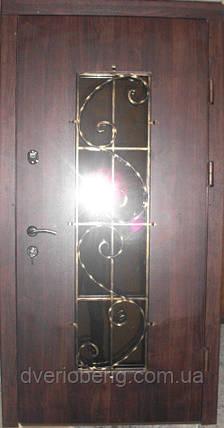 Входная дверь модель П5 0 vinorit-80 КОВКА , фото 2