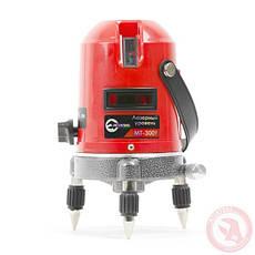 Уровень лазерный 2 головки INTERTOOL MT-3009, фото 3