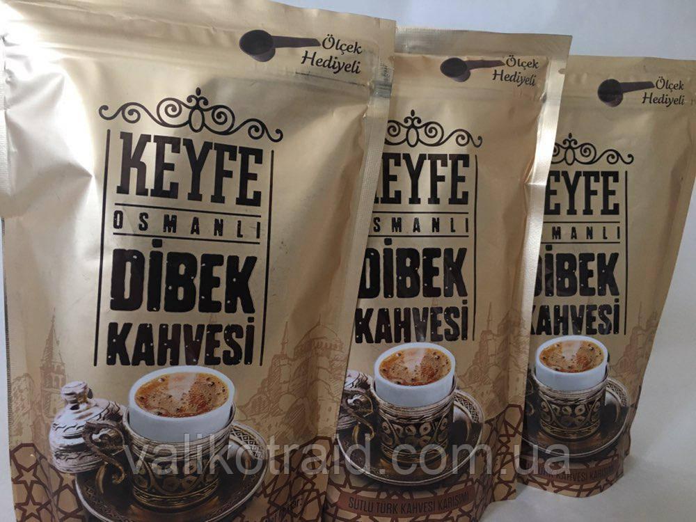 "Кофе турецкий  ""Кeyfe osmanli DIBEK kahvesi"", 200г Турция"