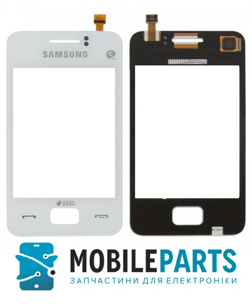 Сенсор (Тачскрин) для Samsung S5220 | S5222 Star 3 Duos (Белый) Оригинал Китай