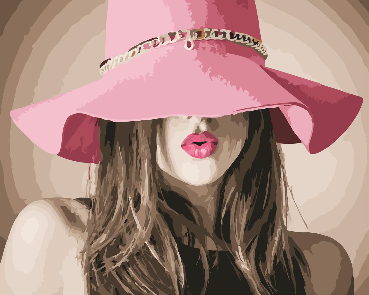 Рисование по номерам В шляпе ArtStory AS0559 40 х 50 см