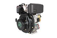 Двигатель дизельный GrunWelt GW178FE (6 л.с., шлицы), фото 1