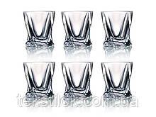 Набор стаканов для виски квадро Crystalite
