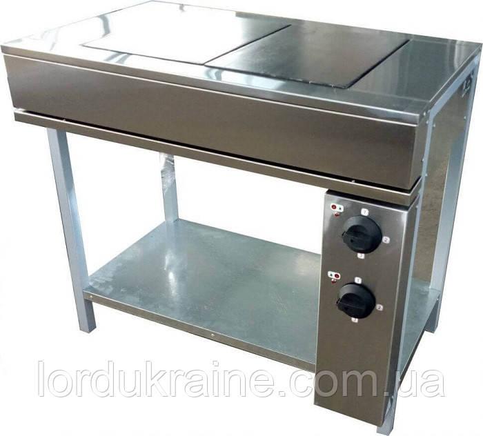 Плита электрическая промышленная без духовки ЭПК-2Б эталон (бюджетный вариант)