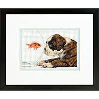Набор для вышивки крестом Dimensions 70-65169 «Собачья миска»
