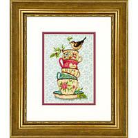 Набір для вишивки хрестом Dimensions 70-65171 «Піраміда чашок»