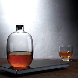 Графин для виски с деревянной подставкой Nude (92632_1076908)