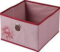 """Короб для зберігання """"Хризантема"""", 28x28x18 см/Короб для хранения """"Хризантема"""" 28х28х18см"""