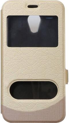 Чехол-книжка Meizu M5C gold Window, фото 2