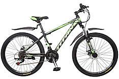 Велосипед гірський підлітковий Titan Spider зелений 2019 р  26 дюйма 15 рама 12 місяців гарантія