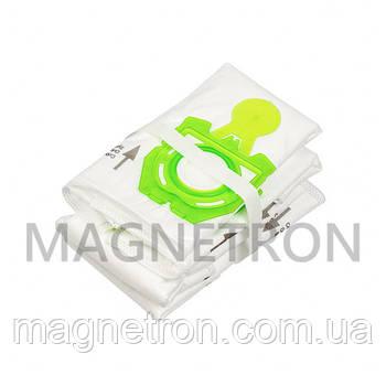 Комплект мешков из микроволокна (4 шт) SAFBAG + фильтр мотора ZVCA300B для пылесоса Zelmer \ Bosch 12003419