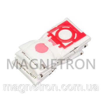 Комплект мешков из микроволокна (4 шт) SAFBAG + фильтр мотора ZVCA300B для пылесоса Zelmer \ Bosch 12006468