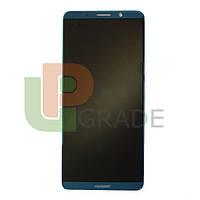 Дисплей для Huawei Mate 10 Pro (BLA-L09/BLA-L29) + тачскрин, синий, Midnight Blue, OLED, копия хорошего качества