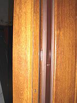 Входная дверь модель П5 361 ПВХ-90 КОВКА, фото 2