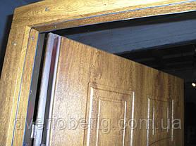 Входная дверь модель П5 361 ПВХ-90 КОВКА, фото 3