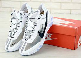 Белые кроссовки Nike React