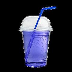 """Стакан купольный с крышкой """"Турция"""" 350мл 50шт"""