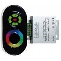 #61/1 black RGB Контроллер 18А Радио - Сенсорный 6 кнопок