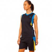 Форма баскетбольная женская LD-8295W-5 (полиэстер, р-р L-2XL(44-50)
