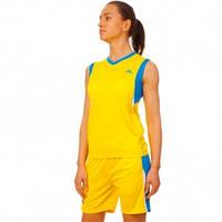 Форма баскетбольная женская LD-8295W-4 (полиэстер, р-р L-2XL(44-50),