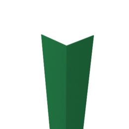 Угол декоративный пластиковый 10Х10 мм  шт зеленый