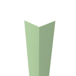 Угол декоративный пластиковый  15х15  шт салатовый