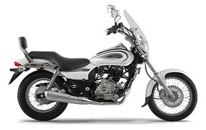 Мотоцикл BAJAJ AVENGER CRUISE 220 белый