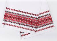 Декоративная ткань с украинским орнаментом рушниковая ТД-38 (1/1 Р-0,6м, 2/1 Р-0,9м)