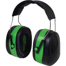 Наушники шумозащитные 32dB зелёные усиленный мягкий наголовник