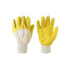 """Перчатки SG - 004 """"Стекольщик желтый"""" мягкий трикотажный манжет"""