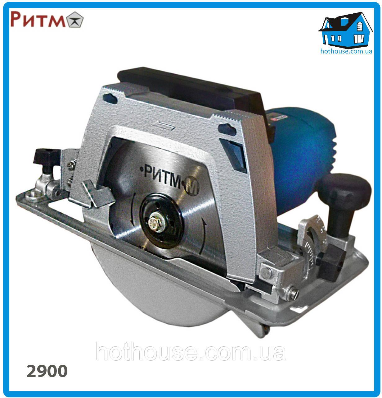 Пила дисковая электрическая Ритм-М ПД 2900С REBIR