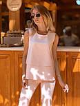 Женский брючный костюм: блуза и брюки (в расцветках), фото 3