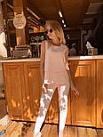 Женский брючный костюм: блуза и брюки (в расцветках), фото 6