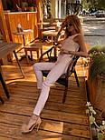 Женский брючный костюм: блуза и брюки (в расцветках), фото 10