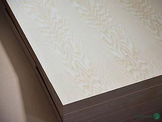 МДФ плита шпонована Білим Ясенем 19 мм Асом/B 2,80х2,07 м