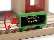 Конструктор BRIO Звукозаписывающая железнодорожная станция деревянной ж/д 33578, фото 3