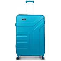 Валіза Travelite Vector на 4 колесах M exp. Блакит. (79/91л,3,7 кг) (45x70x27/31см)