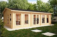 Дом деревянный из профилированного бруса 5х8. Скидка на домокомплекты на 2020 год