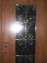 Входная дверь модель П5 347 ПВХ-02 КОВКА, фото 2