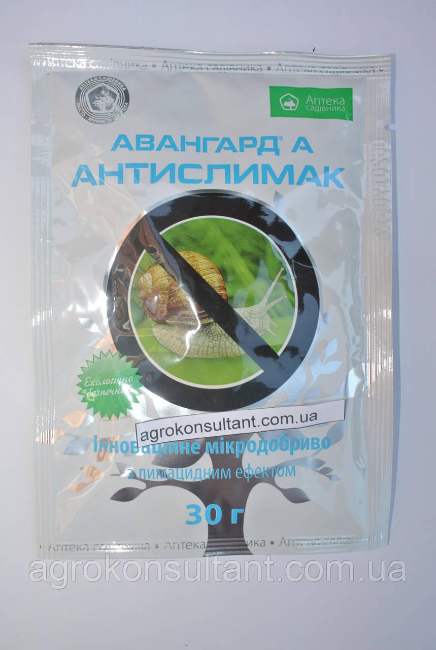 Засіб від равликів і слимаків Авангард Антислимак, 30 г